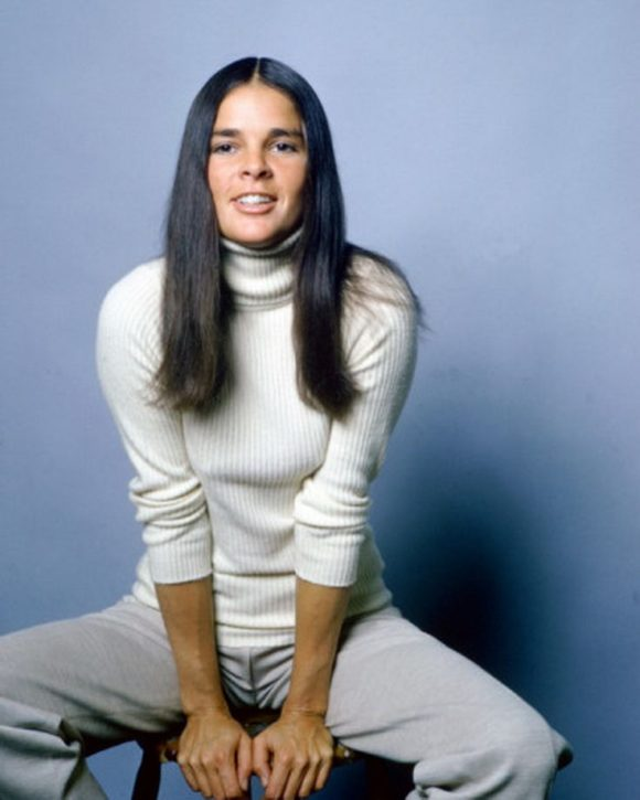 Ali MacGraw turtlenecks prima darling