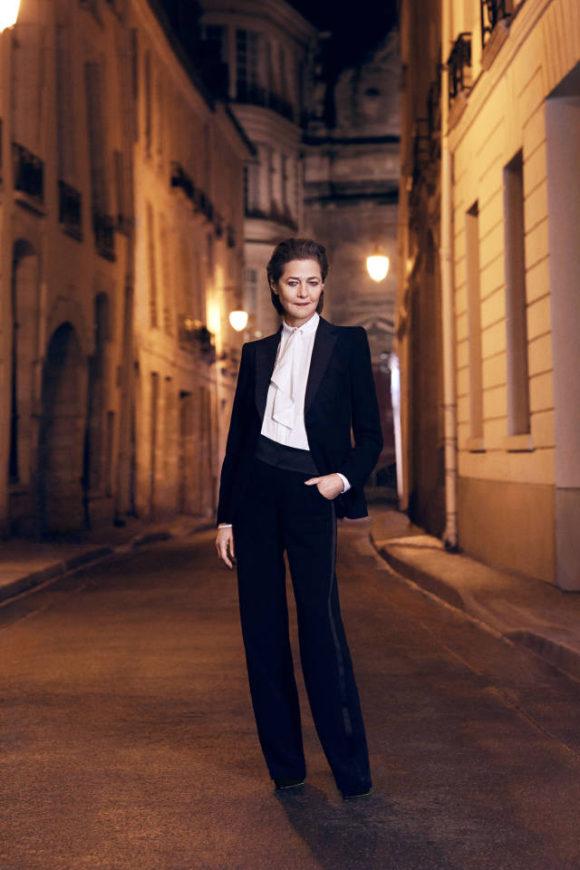 Charlotte Rampling Tuxedo Jacket Prima Darling