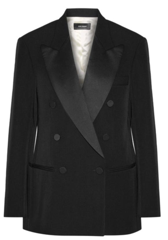 Isabel Marant Tuxedo Jacket Prima Darling