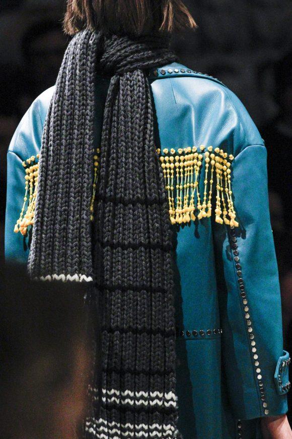 Prada Hand knit scarf