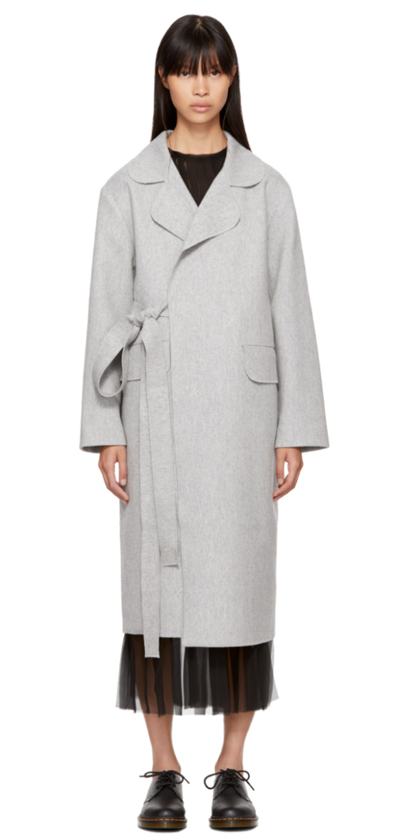 Sara Lanzi Long Coats Prima Darling