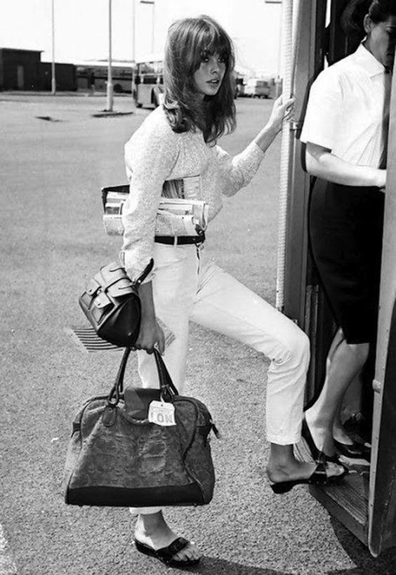 Jean Shrimpton Streamline Luggage