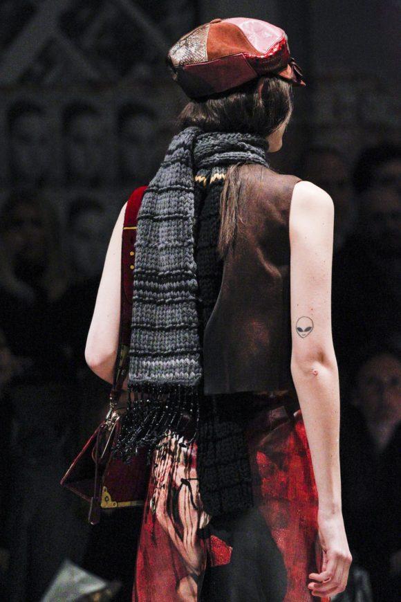 Prada Hand Knit Scarf Prima Darling