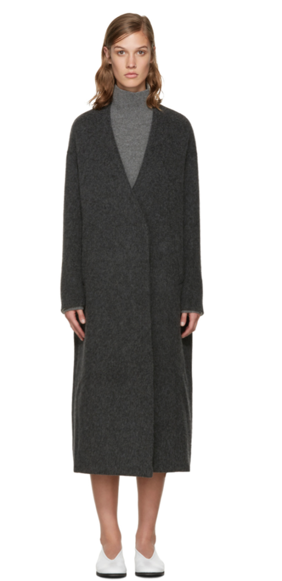 Enfold Long Coat Prima Darling