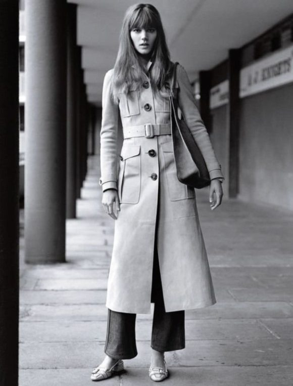 Vogue UK Long Coat Prima Darling