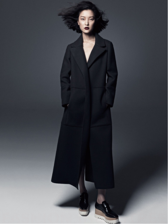 Vogue China Long Coat Prima Darling