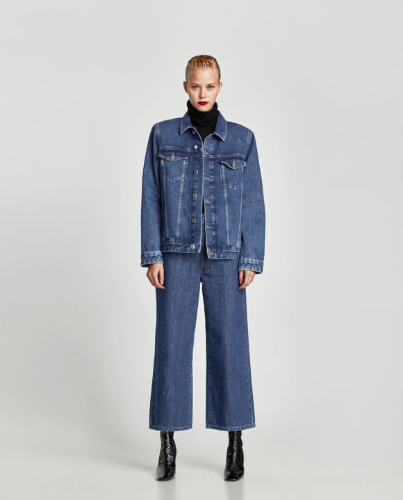 Zara Denim Jacket Prima Darling