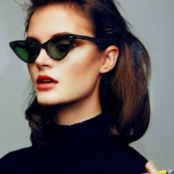 The Continuation of Cat Eye Sunglasses