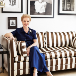 Carolina Herrera Takes Her Final Runway Bow