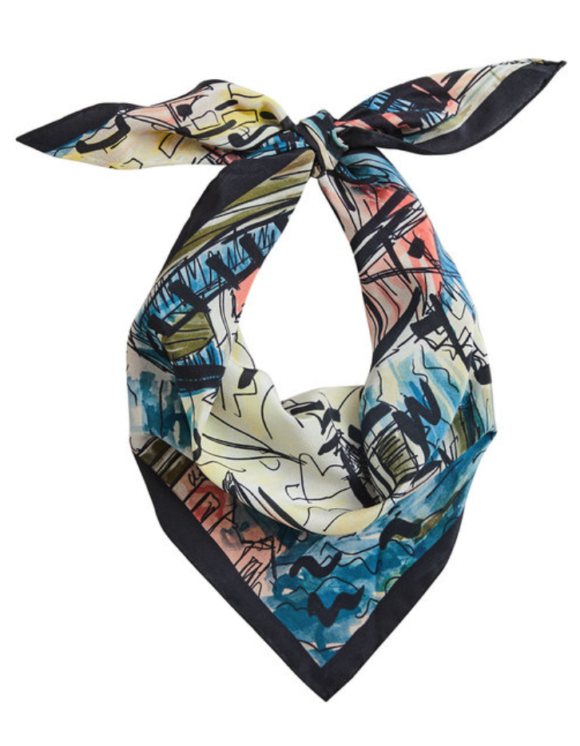 Silk Headscarves Prima Darling