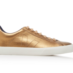 Saturday Deal, Gold Sneakers
