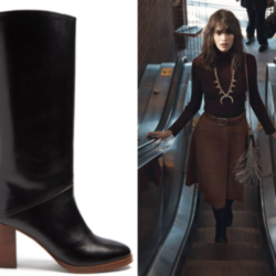 Saturday Deals, Stacked-Heel Boots