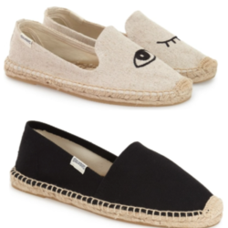 Saturday Deals, Slip on Espadrilles