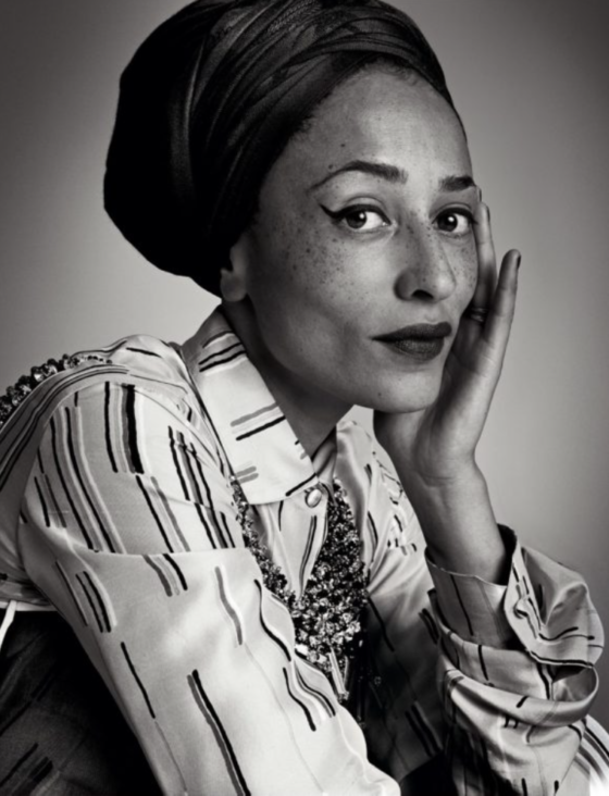 Zadie Smith, Literary Giant and a PD Fifty Over Forty Pick